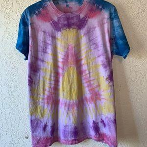 Homemade tie dye t-shirt size L